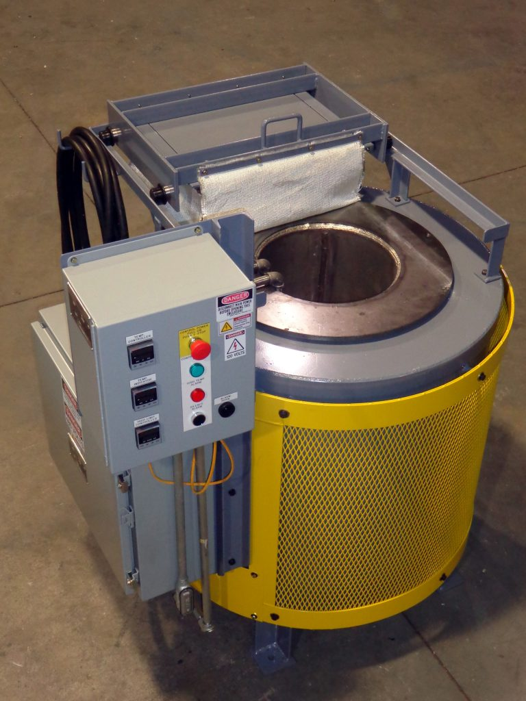 Externally Heated Salt Pot Furnaces